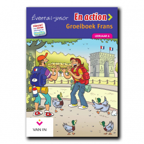 Eventail Junior En action 6 - Groeiboek
